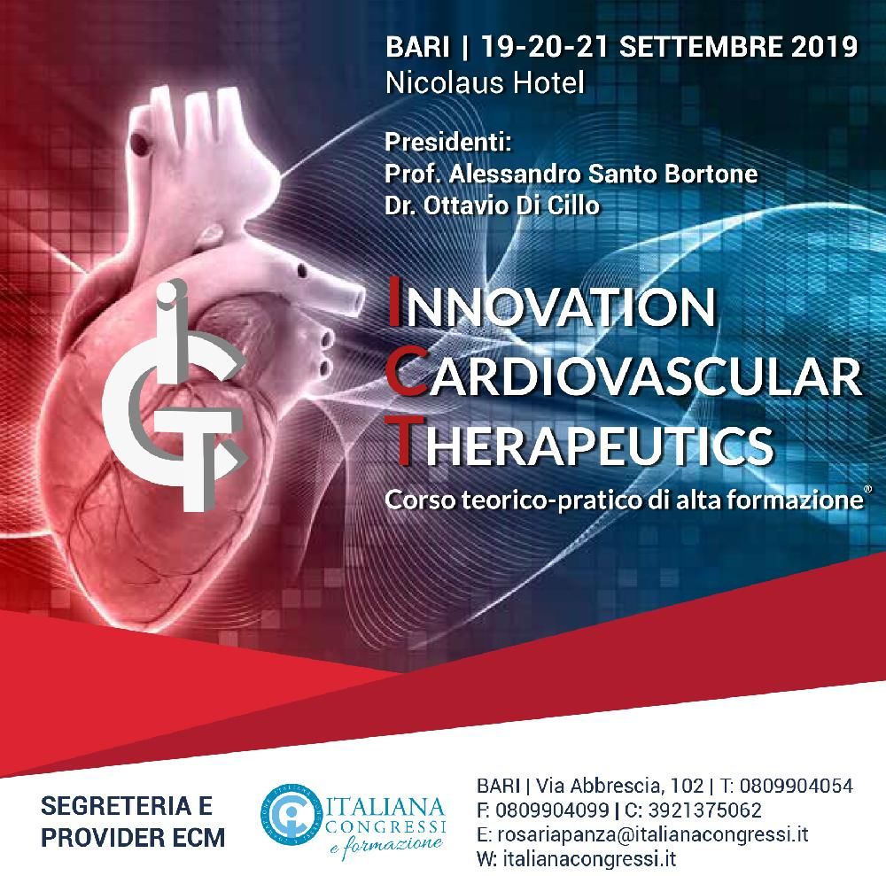INNOVATION CARDIOVASCULAR THERAPEUTICS